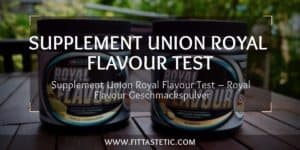 Supplement Union Royal Flavour Test – Royal Flavour Geschmackspulver