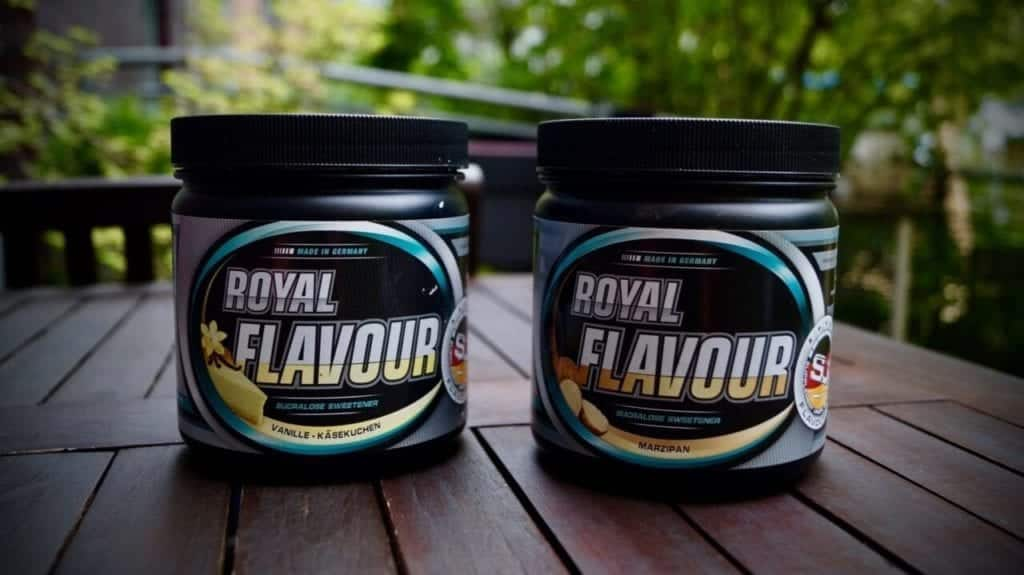 Supplement Union Royal Flavour Marzipan und Käsekuchen im Test