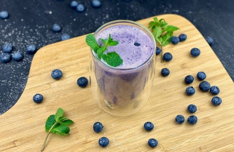 Blauer power smoothie