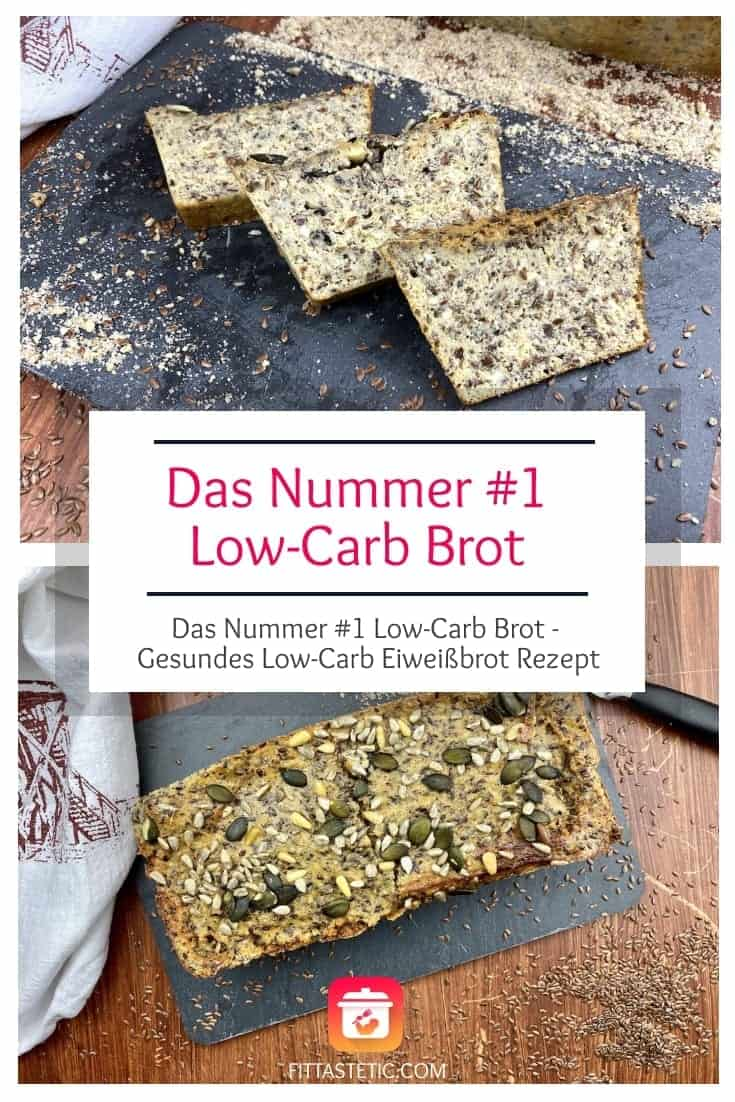 Das Nummer #1 Low-Carb Brot - Gesundes Low-Carb Eiweißbrot