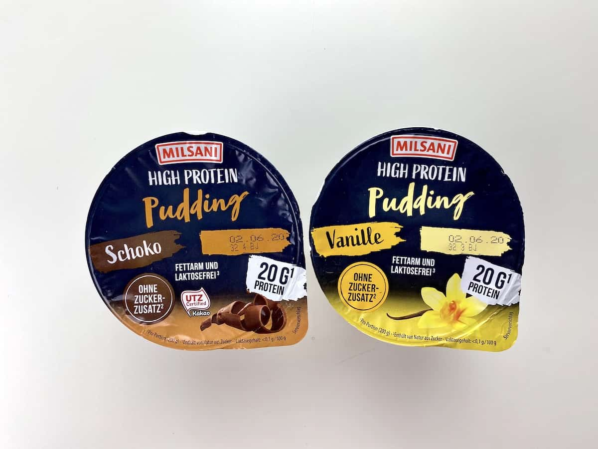Aldi High-Protein-Pudding