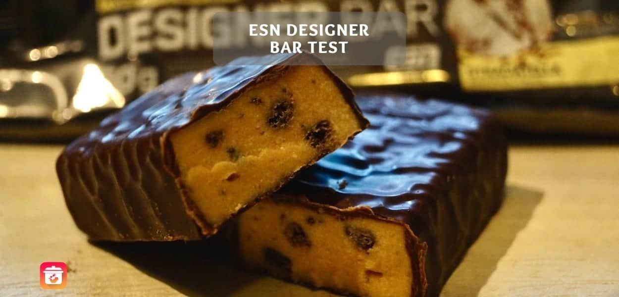 ESN Designer Bar Test -Designer Bar Stracciatella Test & Review