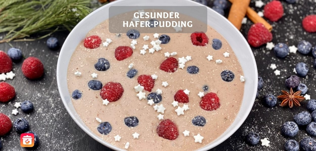 Gesunder Hafer-Pudding – Gesunde Pudding-Oats der Superlative!