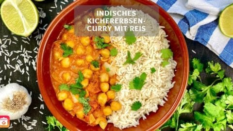 Kichererbsen-Curry - Veganes Indisches Curry