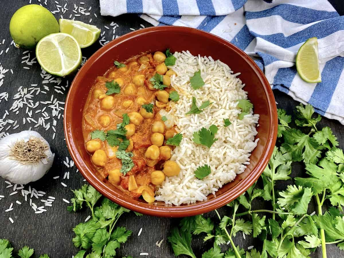 Veganes Indisches Curry