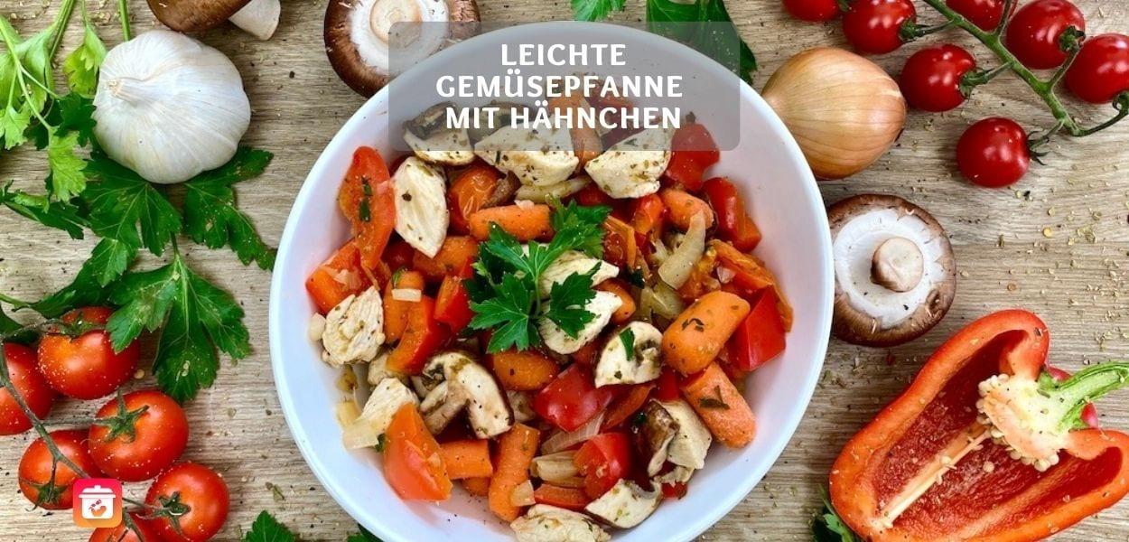 Leichtes Gemüsepfanne Rezept zum Abnehmen
