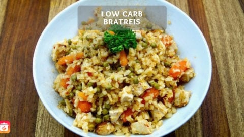 Low-Carb Bratreis - Gesundes Low-Carb Reis Rezept