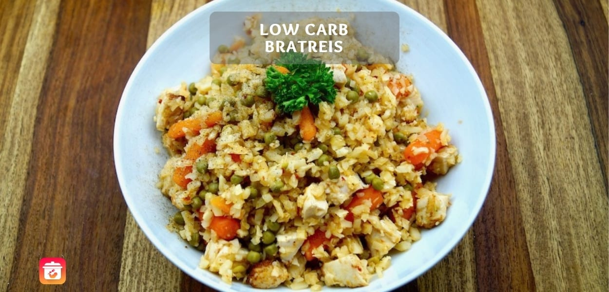 Low-Carb Bratreis – Gesundes Low-Carb Reis Rezept
