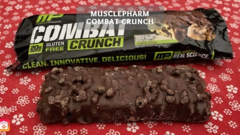 Musclepharm Combat Crunch Proteinriegel Test - Chocolate Chip Cookie Dough Geschmack