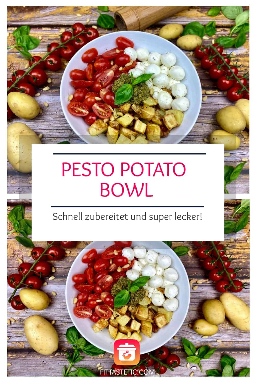 Pesto Potato Bowl - Vegetarische Buddha-Bowl