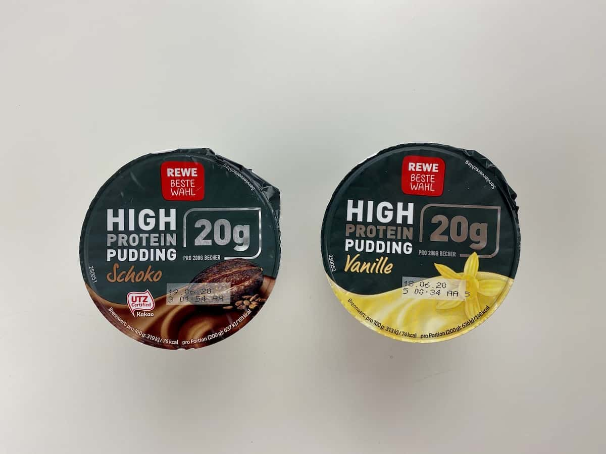 Rewe Protein-Pudding
