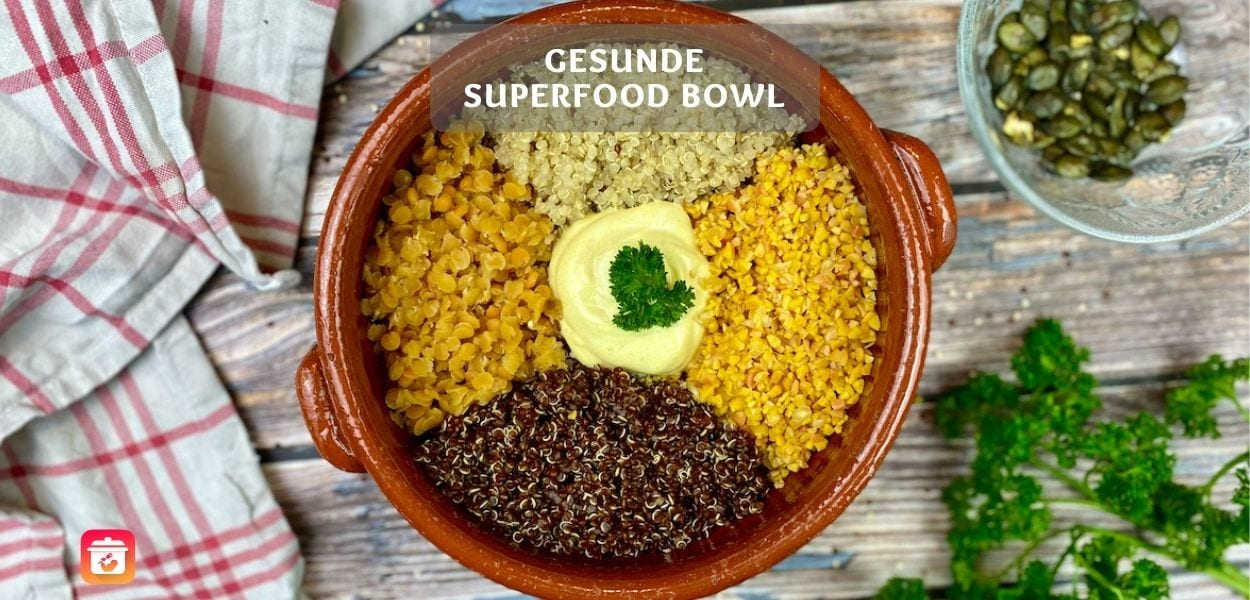 Superfood-Quinoa-Linsen Rezept